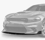 Vicrez V3R Style Front Bumper Lip vz101765| Dodge Charger SRT/Scat Pack 2015-2021