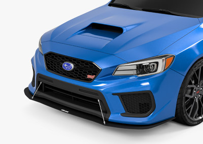 WRX Front Splitter 2015-2018